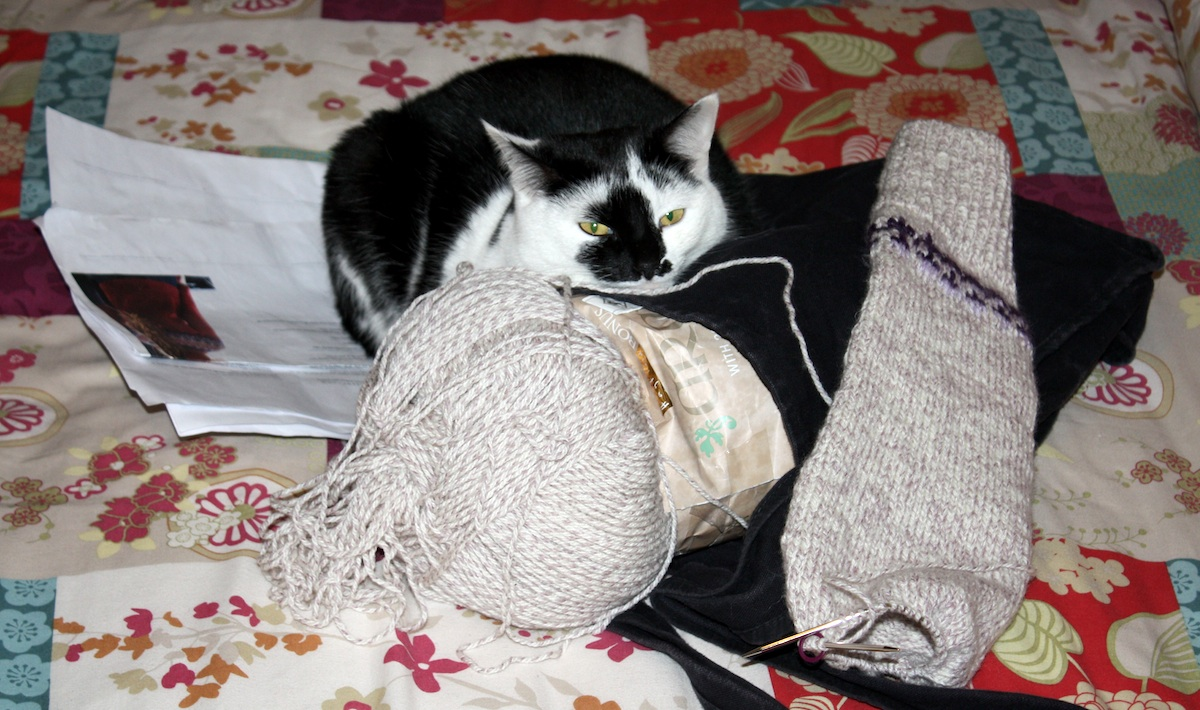 In which there is more than one way to knit